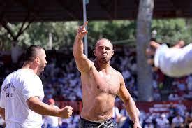 660. Tarihi Kırkpınar Yağlı Güreşleri'nde çeyrek finalistler belli oldu -  Spor Haberleri - Güreş