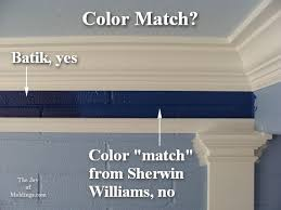 how to match paint colorssherwinwilliamscustomcolormatch  The Joy of Moldingscom