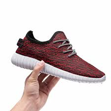 Casual Sports Men's Shoes <b>Fly Knit</b> Canves Running Spring ...