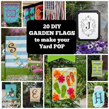 make your yard pop with these 20 diy garden flags coolcrafts com