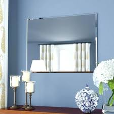 frameless bathroom mirror large mills rectangle metal wall mirror reviews rectangle metal wall mirror large wall