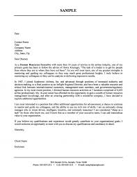 Example Of Executive Cover Letters Human Resources Executive Cover Letter