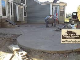 stamped concrete patio mason ohio