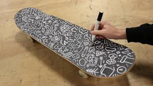Grip Tape Designs Filling My Griptape With Doodles