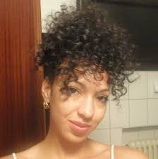 Black Hairstyles Mohawks Quick Curly Hair Styles Curly Mohawk Updo And Bun Youtube