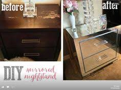 diy mirrored furniture. ivory and olive diy mirrored nightstands diy furniture a