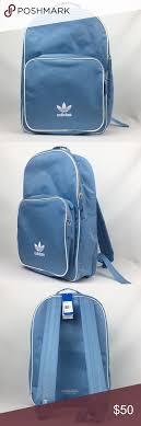 Adidas Backpack Light Blue Adidas Originals Adicolor Backpack In Baby Blue Nice Looking