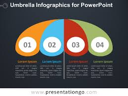 Free Umbrella Chart Template Umbrella Infographics For Powerpoint Presentationgo Com