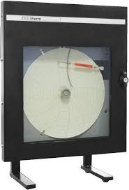 Temperature Chart Recorder Surface Mount Portable
