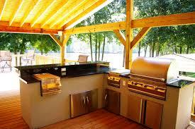 Outdoor Kitchen Sink Station Triyaecom Simple Backyard Kitchen Ideas Various Design