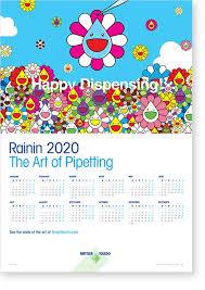 Image Of 2020 Calendar Rainin 2020 Calendar The Art Of Pipetting Mettler Toledo