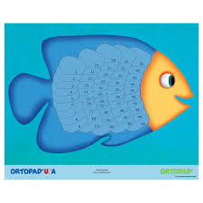 Ortopad Patching Reward Poster Fish