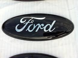 cool ford logos. ford truck f 150350 black custom emblem 9 inch sticks on cool logos