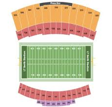 Lt Smith Stadium Tickets And Lt Smith Stadium Seating Chart