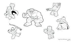 Lego Marvel Superheroes Coloring Pictures Marvel Coloring Pages