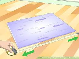 sublime how to keep rugs from slipping image titled stop a rug from moving on a