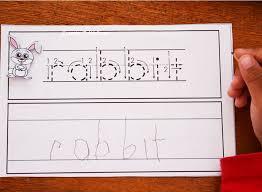 Forest Animals Writing Worksheets for Kindergarten