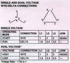 3 phase motor wiring diagram 6 lead wiring diagram six lead motor wiring diagram nilza