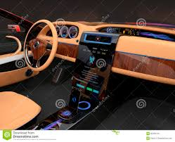 Car Interior Design Software Free Download Stylish Electric Car Interior With Luxury Wood Pattern
