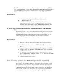 sap fico resume sample professional resume format ...
