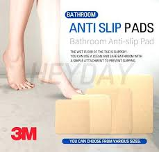 bathtub slip stickers anti slip pads adhesive bathroom non slip sticker