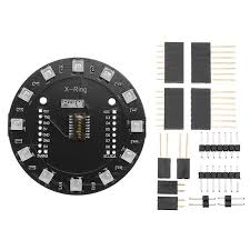 Wemos® <b>X</b>-<b>Ring RGB WS2812b LED</b> Module For RGB Built-in ...