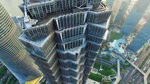 architecture blueprints skyscraper. An Aerial View Of Jinmao Tower\u0027s Open-air Glass Skywalk. Architecture Blueprints Skyscraper T