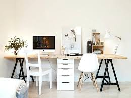 ikea desk office. Ikea Desk Office Best Home Ideas On Two Seat Workspace Via Coco Design Maybe A Crafting And As One Accessories