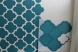 wall painting stencils free with custom paint moroccan wall painting stencils free with custom