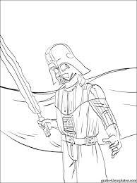 Darth Vader Star Wars Kleurplaten Gratis Kleurplaten