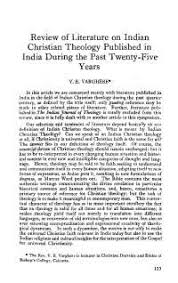 review of literature on n christian theology published in  review of literature on n christian theology published in during the past twenty five