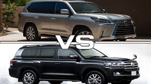 Fancy Idea Lexus Land Cruiser Toyota Vs LX Buy This Not That 2016 ...