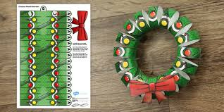 plain christmas wreath coloring page. Plain Christmas 3D Christmas Wreath Display Printable  3d Christmas Wreath Display  Printable And Plain Coloring Page
