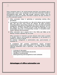 3 3 office automation advantages of office automation