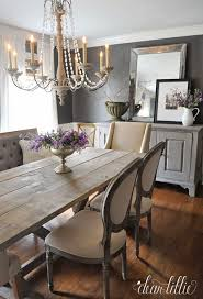 rustic dining room buffet. Elegant Dining Room With Both Traditional And Rustic Elements. Labor Junction / Home Improvement Buffet A