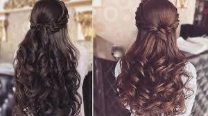 Half Up Half Down Hairstyles For Long Hair Half Up Half Down