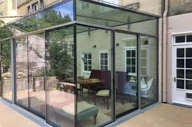 contemporary modern glass extensions