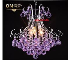 light fixtures picture more detailed picture about redpurple for new residence purple crystal chandelier lighting prepare