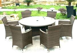 wicker patio dining table all weather wicker dining tables resin wicker outdoor dining furniture rattan garden
