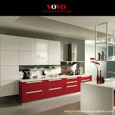 High Gloss White Lacquer Kitchen Cabinet In Kitchen Cabinets From