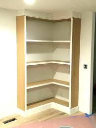 Unfinished Corner Shelves Wood Corner Shelves Patterndme 52