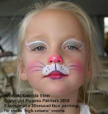 bunny face cute bunny rabbit costume makeup