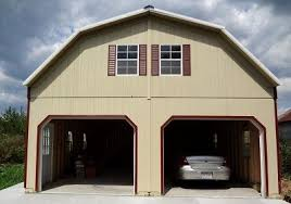 T Fresh Shed With Garage Door