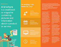 Company Brochure Example Design Trifold Brochures That Get Your Business Noticed