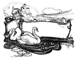 swan lake coloring pages