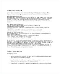 Do Resumes Need Objectives Does A Resume Need An Objective Example