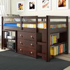 full size bunk bed with desk. Plain Desk Gorgeous Full Size Loft Bed With Desk And Storage Bunk U