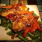 balsamic peppered chicken