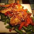 balsamic peppered chicken