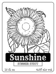 Sunflower Beer Bottle Label wine bottle label templates download wine bottle label designs on vertical labels template